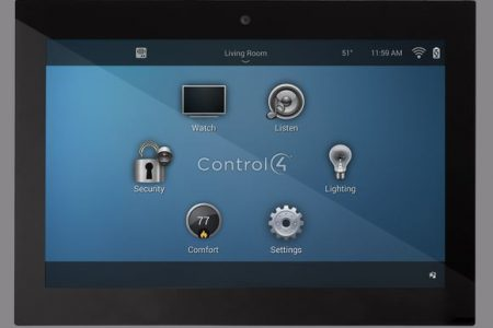 Control4 Touch Screen Black